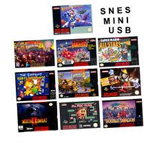 SNES Classic Mini Mod génial JEUX LOGICIELS via USB-Livraison rapide
