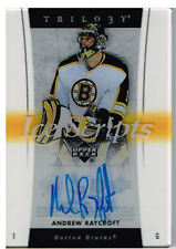 05-06 Trilogy ICE SCRIPTS Andrew RAYCROFT #IS-AR - Bruins