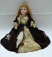 "Antique Kley & Hahn SPECIAL Bisque Doll 23"" Germany"