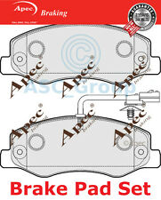 Apec Rear Brake Pads Set OE Quality Replacement with Wear Indicator PAD1783