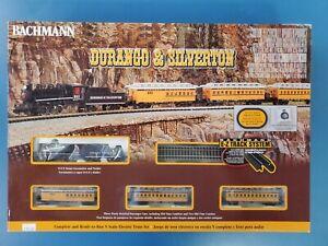 Bachmann Durango and Silverton - N Scale Ready to Run Electric Train Set Design