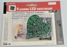 Velleman Flashing LED Sweetheart Electronics Kit MK101