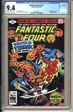 FANTASTIC FOUR #211  CGC 9.4 OWW NM  Marvel Comic 1979  1st app Terrax  Byrne