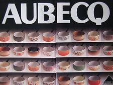 PUBLICITÉ DE PRESSE 1979 AUBECQ DES CASSEROLES BIEN FAITES - ADVERTISING