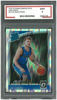 2018-19 Panini Donruss Optic Shock Prizm #177 RC LUKA DONCIC ~ BSG Graded 9
