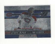 2010-11 Zenith Crease Is The Word #3 Carey Price Canadiens