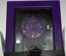 ICE-WATCH VIOLETT Quarzuhr Ice-Solid, 100m/10atm - SD.PE.U.P.1- Unisex in OVP