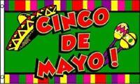 3x5 Cinco De Mayo Festival Party Flag 3'x5' Banner Brass Grommets