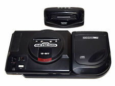 Sega CD Genesis Launch Edition Black Console SEGA CD (NTSC)