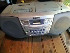 Sony Cfd-S22 Cd/Radio/Cassette Recorder Boombox) Tested Works