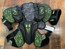 Nwt Under Armour Command Pro Shoulder Pad Lacrosse Adult Large New Ua Black