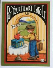 Mary Engelbreit Artwork-Put Your Heart Into It-Handmade Greeting Cards