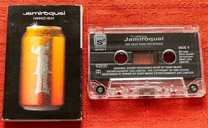 JAMIROQUAI - UK CASSETTE TAPE SINGLE - CANNED HEAT