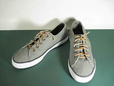 SPERRY TOP-SIDER SEACOAST GREEN CANVAS CASUAL SHOES  SIZE 8.5 MEDIUM