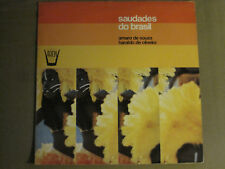 AMARO DE SOUZA HARALDO DE OLIVEIRA SAUDADES DO BRASIL LP '75 ARION SAMBA VG+