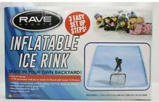 Rave Sports Inflatable Ice Hockey Rink Figure Skating Outdoor Blow up 10' x 13'