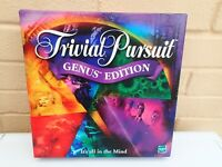 Trivial Pursuit Genus Edition Board Game Parker Horn Abbot Hasbro 2001 Complete