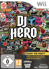 Jeu pour Nintendo Wii    DJ Hero  Neuf  Sous Blister