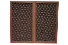 REALISTIC NOVA-8B Vintage 40-4026A Home Studio Monitors Speakers Walnut Pair