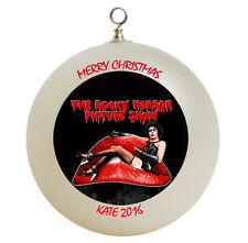 Personalized Rocky Horror Picture Christmas Ornament