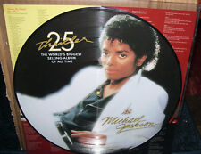 Michael Jackson Thriller Picture Cisc NM Disk
