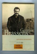 COFFRET CD PROMO (NEUF) GEORGES BRASSENS QUINZIEME ANNIVERSAIRE