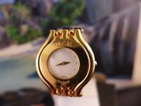 Unique, Elegant,  Ladies' MCM 32mm Gold Plated Quartz Watch