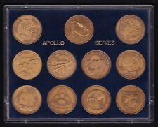 Apollo Series Medallions in Respect of America's Manned Space Program 1968-72