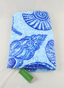 Lilly Pulitzer NWT GWP True Blue Stuffed Shells Beach Towel