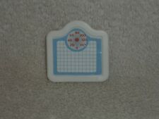 Fisher Price Loving Family Dollhouse White Bathroom Weigh Scale