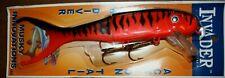 "9"" Shallow Invader Musky Innovations Muskie Pike Orange Tiger Crankbait 10915"