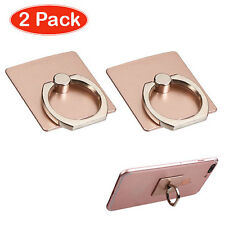 Rose Gold Adhesive Ring Stand 2pcs ZTE N9132 Prestige COOLPAD 3320A Rogue