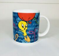Vintage 1999 Looney Tunes Tweety Bird Coffee Mug Cup