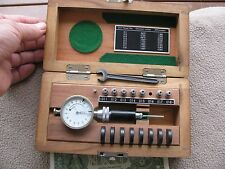 Diatest Germany   .0625 to .1600  dial bore gage set machinist toolmaker tool