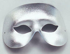 Silver Cocktail Eye Mask Masquerade Carnival Parade Fancy Dress