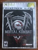 Mortal Kombat: Deadly Alliance Platinum Hits Xbox Complete Tested