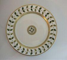"Bernardaud Constance Green Salad Plate 8 3/8"" France Excellent"