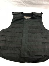 Point Blank Tactical Vest Black MOLLE LE Police SWAT (No Armor Included) XS