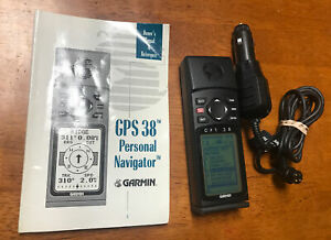 Garmin GPS 38 Handheld Bundle. Manual & Car Charger. Free Shiping