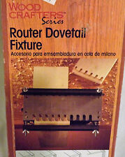 Wood Crafters Series Router Dovetail Fixture Vermont American NIB #23460 USA