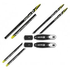 NEW FISCHER XC SUPERLITE CROWN cross country SKIS/BINDINGS PACKAGE -Many lengths