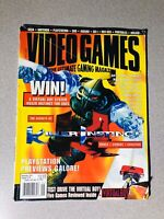 Video Games The Ultimate Gaming Magazine September 1995 Vintage Killer Instinct