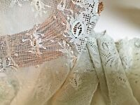 """Pretty and Dainty 9""""/23cm Sage Green Stretch Tulle Lace Trim.Lingerie/Sewing"""