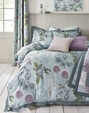 NEXT Wild Hedgerow Teal 100% Cotton KING Size Floral Bed Set,Bedding,Duvet.NEW