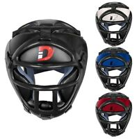 DEFY Head Guard Premium Synthetic Leather MMA Boxing Head Gear UFC Wrestling New