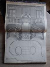Roubo L'ART DE LA MENUISERIE Librairie Ch. Juliot 1883 2 volumes + 230 planches