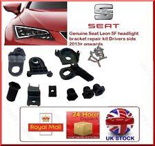 ORIGINALE Seat Leon 5f Kit Riparazione Staffa Faro Anteriore lato RH mk3 O/S