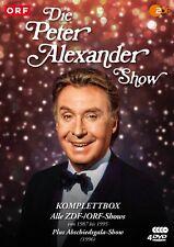 Die Peter Alexander Show - Komplettbox - Alle 6 Shows + Abschiedsendung [4 DVDs]