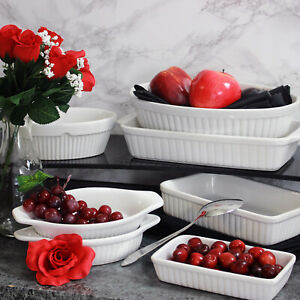 Mason Cash Baking Dish White Ceramic Oven Dish Roasting Dish Food Serving Dish