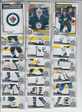 20/21 OPC Winnipeg Jets Team Set w/RCs + Inserts - Copp Hellebuyck Harkins RC +